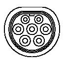 Implantation d'une prise de type 2 (Mennekes)